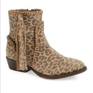 Matisse Sibel Leopard Western Style Bootie